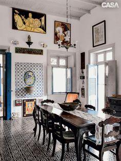 Ariano Suassuna CASA CLAUDIA Visitou A Casa Em Que O Escritor Morou