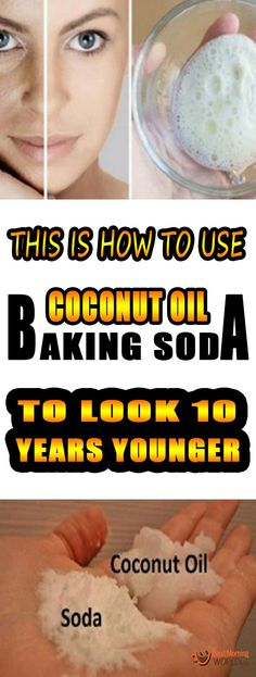 Coconut Oil Uses - This Is How To Use Coconut Oil And Baking Soda To Look 10 Years Younger! 9 Reasons to Use Coconut Oil Daily Coconut Oil Will Set You Free — and Improve Your Health!Coconut Oil Fuels Your Metabolism! Natural Facial Cleanser, Natural Face, Natural Makeup, Natural Skin Care, Homemade Face Cleanser, Natural Oil, Organic Makeup, Natural Healing, Shampoo Diy
