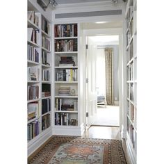 library ❤ liked on Polyvore featuring house, interiors, rooms, home and libraries