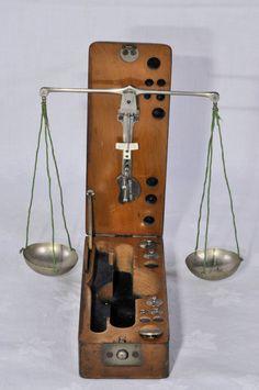 Antique Pocket Balance Scale | eBay