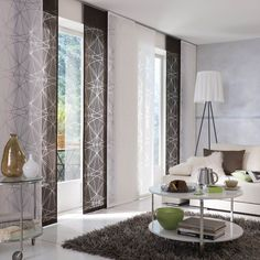 lapfüggöny Curtains With Blinds, Panel Curtains, Home Panel, Curtain Designs, Room Colors, Living Room Designs, Bedroom Decor, Interior Design, Decoration