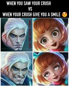 Moba Legends, Play Hacks, Mobile Legend Wallpaper, Miraculous Ladybug Memes, Lol, Pokemon Fan Art, Know Your Meme, Funny Puns, Gaming Memes