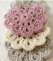 Relasé: Crochet: Fiori all'uncinetto - schema e spiegazioni