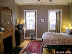 This charming Village guesthouse, once the residence of Rose Wilder, the daughter of Laura Ingalls Wilder, offers the savvy traveler one of two private studio apartments, right in the heart of Greenwich Village, but on a quiet street just off Bleecker Street. You'll have all the privacy and convenience of your own apartment, but still enjoy the guest house amenities of free wifi, cleaning services 4-5 days per week and continental breakfast at nearby Doma.   In your Jones Street apartment…