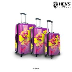 I found this amazing 3-Piece Set: Heys USA Tropical Hardside Spinner Luggage - Assorted Styles at nomorerack.com for 84% off. Sign up now and receive 10 dollars off your first purchase
