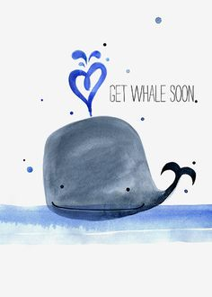 101 Get Well Soon Quotes, Sayings, Messages, Greetings & Images Sorry to hear you're feeling blue, I hope this card will get you through. Get Well Soon Funny, Get Well Soon Quotes, Get Well Soon Gifts, Funny Get Well Cards, Get Well Messages, Get Well Wishes, Art Beat, Greetings Images, Image Fun