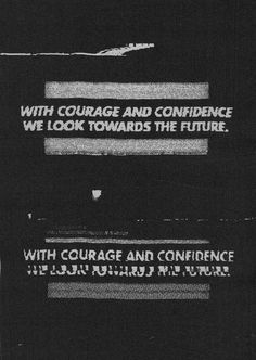 With Courage and Confidence We Look Towards The Future - KARBORN