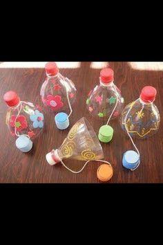 Spel diy thanksgiving crafts for kids - Kids Crafts Summer Crafts, Diy And Crafts, Crafts For Kids, Games For Kids, Diy For Kids, Fun Games, Plastic Bottle Crafts, Plastic Bottles, Plastic Craft