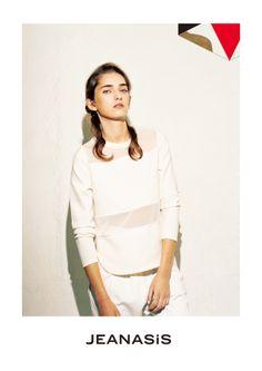 JEANASIS 2014 Spring visual  Model: Elenor