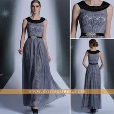 Tencel Chiffon Blue Mother of Bride Dresses with 2014 New Fashion, Formal Evening dresses Long 30899