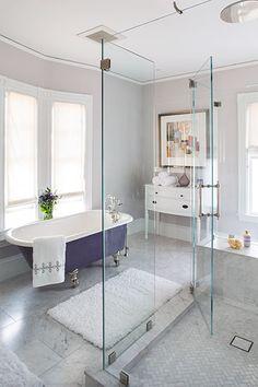 the Belmont Victorian master bath