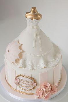 Wedding dress by Cake by Annie