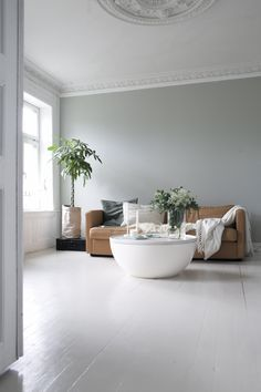 """Love this fresh color! """"Restful Le Havre"""" by Nordsjø (wall paint color)"""