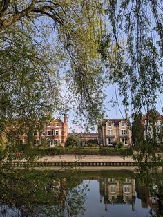 Shrewsbury - Severn River houses
