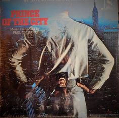 "Prince Of The City 12"" Vinyl Lp Original Soundtrack (1981 music Paul Chihara) Treat Williams; Sidney Lumet film about police corruption"