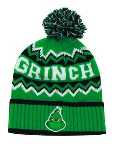 Dr. Seuss The Grinch Knit Hat Concept