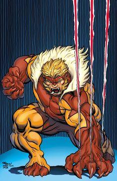 Sabertooth on Wolverine cover by EdMcGuinness on DeviantArt Marvel Dc Comics, Marvel Comic Universe, Comics Universe, Marvel Art, Marvel Heroes, Comic Book Artists, Comic Book Characters, Comic Book Heroes, Marvel Characters