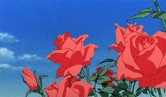 Aesthetic Gif, Flower Aesthetic, Aesthetic Pictures, Aesthetic Wallpapers, Aesthetic Grunge, Anime Gifs, Anime Art, Neji E Tenten, Illustration Manga