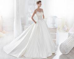 Moda sposa 2018 - Collezione NICOLE. NIAB18112. Abito da sposa Nicole.