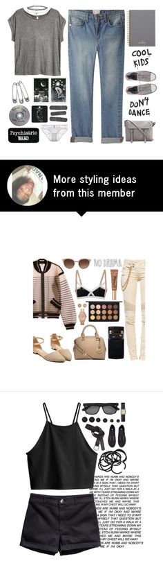 """""""Untitled #585"""" by ccbri on Polyvore featuring moda, H&M, Band of Outsiders, Mulberry, Converse, Topshop, Fleur of England y Miss Selfridge"""