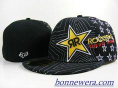 Acheter Pas Cher Casquettes Rockstar Fitted 0001 En ligne - BONNEWERA.COM
