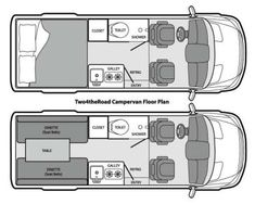 ProMasterOutpost.com-Van-Build-Ideas-Part-2 (11) Sprinter Van Conversion, Van Conversion Layout, Minivan Camper Conversion, Van Conversion Interior, Van Interior, Van Conversion Floor Plans, Bus Conversion, Van Conversion Blueprints, Van Conversion With Bathroom
