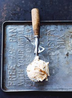 Maple Crunch Ice Cream