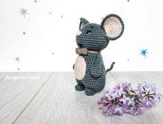 Crochet mouse - Free amigurumi pattern by Amigurumi Today