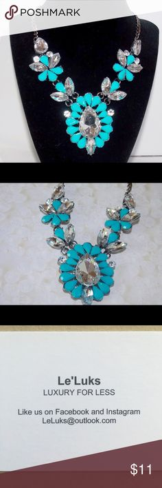 Leah Statement Necklace New Leah Necklace!!! Part of my jewelry shop Le'Luks!!!   Follow us for new items updates :) #leluks Jewelry Necklaces
