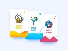 Baroudeur App Splash screen test by Benjamin Bely #Design Popular #Dribbble #shots