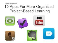 These 10 apps for iPad and Android will help you organize project-based learning in your classroom. Problem Based Learning, Inquiry Based Learning, Project Based Learning, Instructional Technology, Educational Technology, Ipad, Mobile Learning, Learning Apps, Blended Learning