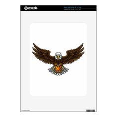 Eagle Tennis Sports Mascot Decal For The iPad Custom Brandable ...