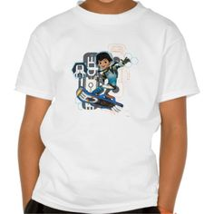 Miles Callisto On His Blastboard Graphic Tshirt