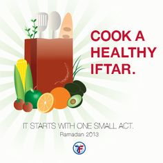 Act of Kindness - Day 11: Cook a healthy iftar. #ZF30ActsofKindness #ZakatUS