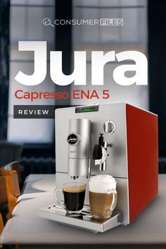 What features stand out for the Jura-Capresso ENA 5 Machine? Jura Coffee Machine, Coffee Making Machine, Espresso Machine, Coffee Maker, Coffee Magazine, Automatic Coffee Machine, Coffee Staining, Pint Glass, How To Find Out