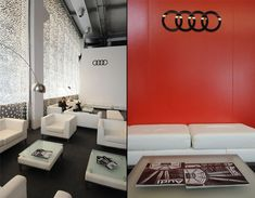 Audi showroom by POINT studio, Milan