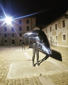 """Sculpture in the night  #molevanvitelliana #igersancona #yallersmarche #night #notte #sculpture #art #arte #scultura #beautiful #ancona #marche #italy #italia #instapic #instagood #artecontemporanea #artist #artistic #marche #beautifulancona #igersmarche #anconatourism #italiainunoscatto #architecture #architettura #travel #travelgram #tourism #ig_ancona"" by @ema.travel. #fslc #followshoutoutlikecomment #TagsForLikesFSLC #TagsForLikesApp #follow #shoutout #followme #comment #TagsForLikes…"