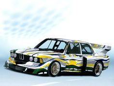 1977 BMW 320i Gruppe 5 Art Car by Roy Lichtenstein (E21)