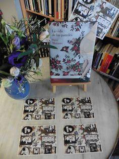 """""""La vida de las paredes"""" de Sara Morante editado por Lumen. Acabamos de recibirlo, no lo hemos leído aún pero ya estamos cautivados por la edición, las ilustraciones, la historia que promete y las postalitas que vienen de regalo, para usar de punto de libro o sorprender a alguien a través de Correos."""