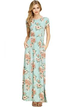 THE PHYLLIS FLORAL MAXI DRESS