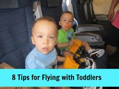 8 tips for flying with toddlers - #travel #toddlers #familytravel