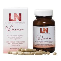 Living Nutrition Living Nutrition Warrior is a carefully crafted combination of roots, herbs, foods and Cordyceps mushrooms in their most bio- active state to support the body and mind, for the times when you need to perform