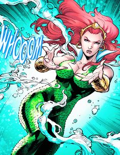 Mera in Aquaman #48 (2016) - Vicente Cifuentes, John Dell, Juan Castro & Guy Major