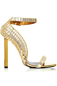 Trendy High Heels For You : Tom Ford Shoes 2014 Spring-Summer Cute Shoes, Women's Shoes, Me Too Shoes, Shoe Boots, Gold Shoes, Trendy Shoes, Disco Shoes, Bling Shoes, Shoes Style