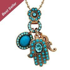 Amaro Jewelry -Jewish Jewelry Oriental Hamsa Necklace Inspired imitation jewelry