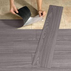 BrylaneHome Peel-And-Stick Wood-Look Plank Flooring (SILVER SPRUCE,0) by BrylaneHome, http://www.amazon.com/dp/B006R5LYVG/ref=cm_sw_r_pi_dp_VT0Lqb0SF0JB4