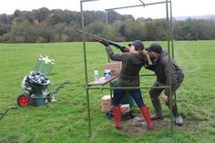 #Barbour Clay Pigeon Shoot. On my bucket list.