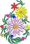 Flowers Enbroidery Design