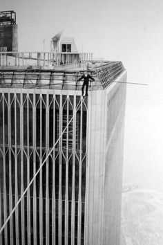 Philippe Petit, the man on wire