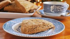 Gingerbread scones | Traditional scones too often are dry and crumbly. Not these ones. Thanks to the addition of cream and molasses, these ones are super-moist. They're also super fast from oven to table — they bake for just 15 minutes.